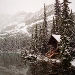 Cabin on Lake O'hara