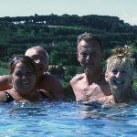 Podere Monti swimming
