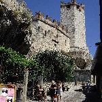the castle malcesine
