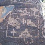Petroglyphs at Boca Negra
