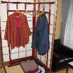 Traditional clothing provided in our room