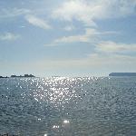 Der Blick auf`s Meer