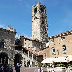 Piazza Vecchia (2mins away)