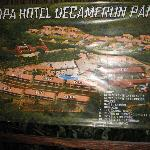 map of the hotel