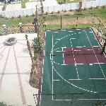 Basketball/Tennis & Volleyaball court