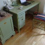 Very old and ugly desk