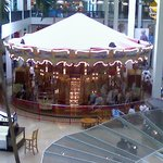 Carousel inside the Plymouth Meeting Mall