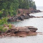 Wild coastline of Lake Superior