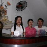 Hotel staff which are friendly and nice