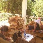 relaxed balcon