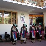 Ladakhi women performing regional dance