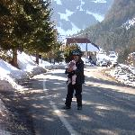 Walk down from Les Prodains to Chalet Christophe