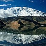 Beautiful Karakul lake