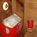 Ivory Sutie, Dry Sauna