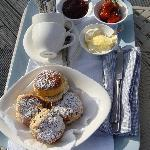 More cream tea