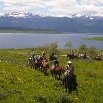 Ride overlooking Hebgen Lake