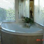 Spa Bath with seaviews