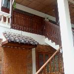 Lanna style wooden architecture