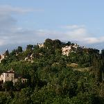 View from room of Montepulciano