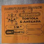 Ticket to Anegada