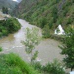 Confluence of Paro and Thimphu