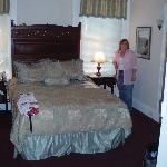 Our room, the Bronte but ignore the lady - she's the proud guest