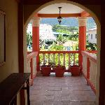 La Delphina balcony view