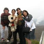 Japanese tourists gushing over the Wee Patudy