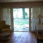 Room - view towards garden