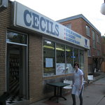 The front of Cecil's