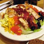 A cobb salad at Cecil's