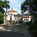 Chegada ao Mosteiro