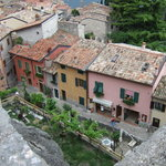 Malcesine from the castle roof