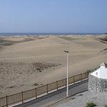 Blick auf den Dünen von Maspalomas