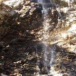 One of the many falls in the Forest Falls area