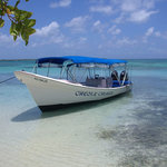 The boat at Bird Island, Lobster lunch!!!