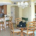 Kitchen, Dining Room, & Lvg Rm