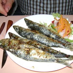 Sardines for starters