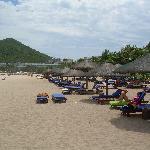Dadonghai Bay Beach in front of Resort Intime