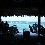 view of the bay from inside Lol-Ha