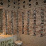 Extraordinaire salle de bain dans un ancien pigeonnier