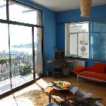 Wohnzimmer mit Bosporusblick
