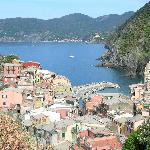 Vernazza on hike to Corniglia