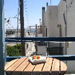 view from balcony Irene l