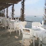 La Terraza del Restaurante - una maravilla