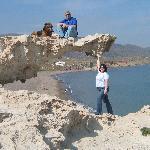 Los Esullos - en frente de la isleta