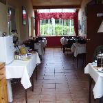 White Lodge Breakfast room