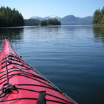 View from our kayak