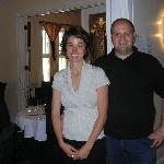 Jasmine Hébert et Mario Vianni, propriétaires