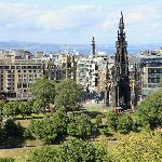 Scott Monument from the flat
